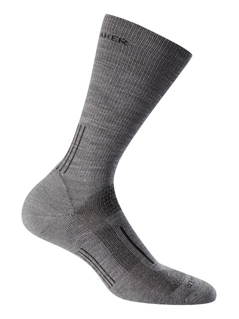 Icebreaker Hike Light Crew Socks Men twister hthr